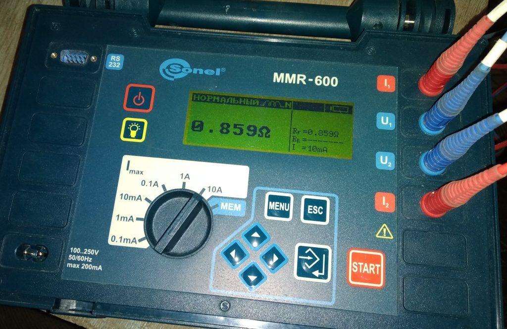 Испытание конденсаторов связи