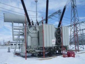 силовой трансформатор 500 кВ